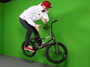 BMX jump captured using bullet time photography: what is 3d photography