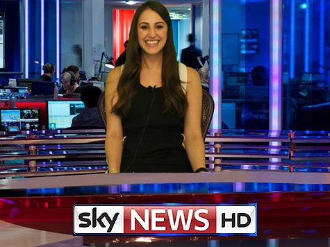 Girl hosting the news as Green Screen Background Ideas
