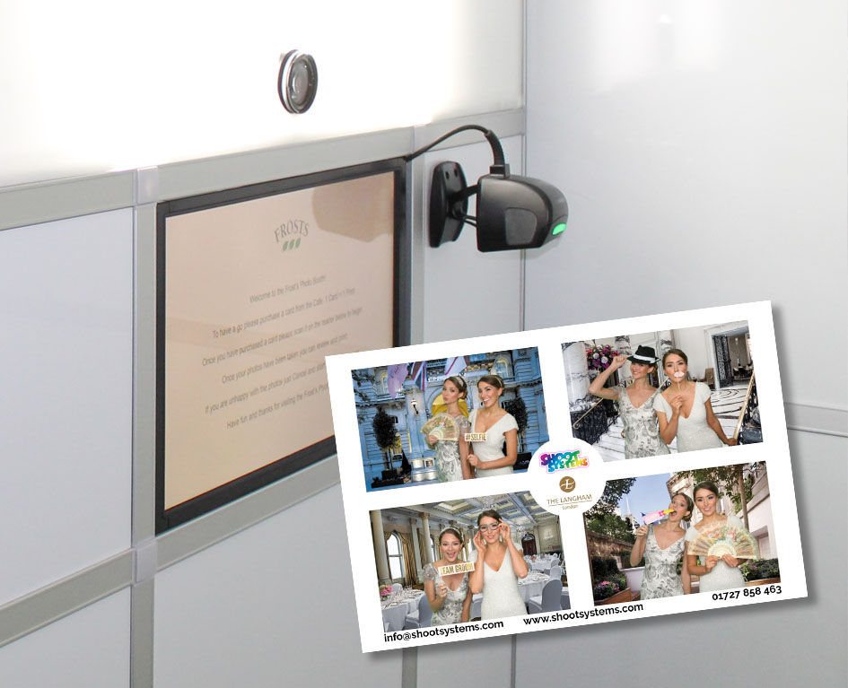 Wedding photo booth strip