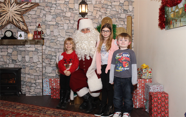 Santa's grotto photography