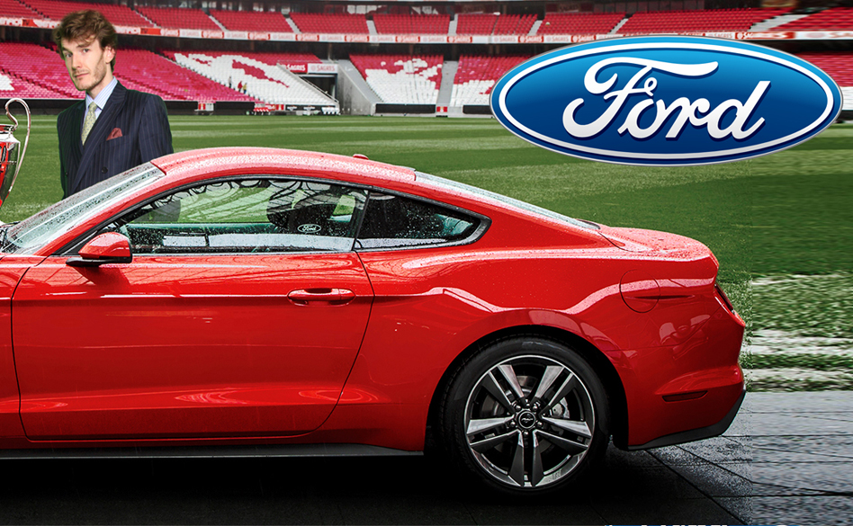 Ford green screen photo marketing