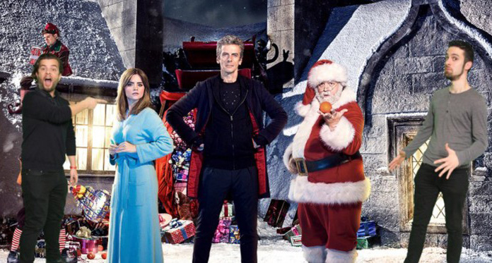 Dr Who Christmas special photo marketing