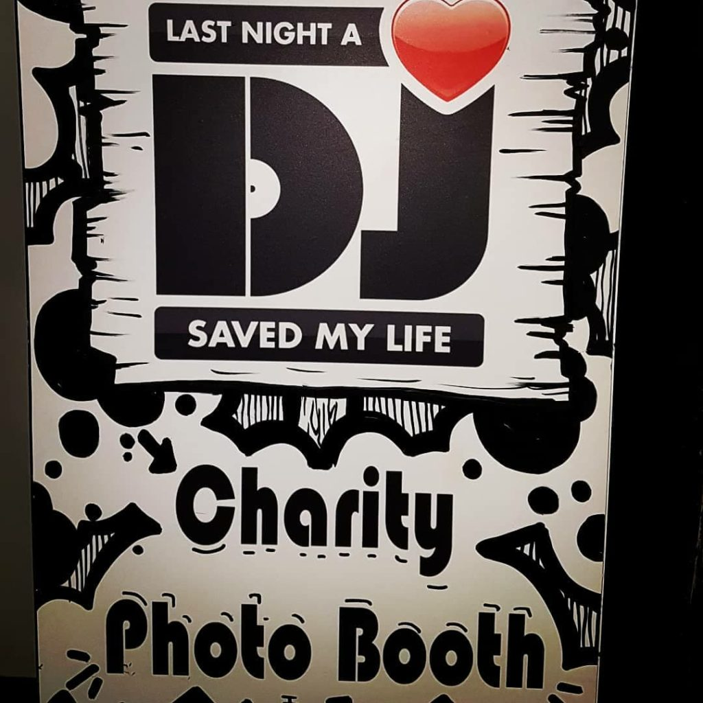 LNADJ charity booth