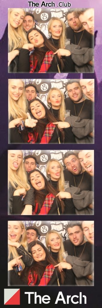 The Arch photo booth strip